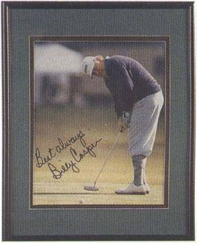 Autographed Billy Casper