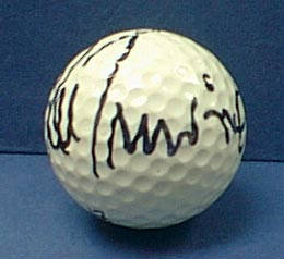 Autographed Lee Trevino