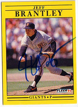 Autographed Jeff Brantley