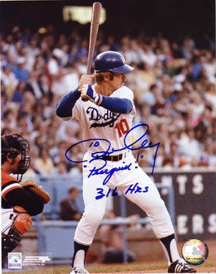 Autographed Ron Cey