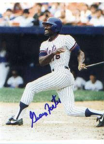 Autographed George Foster