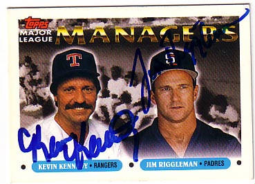 Kevin Kennedy & Jim Riggleman