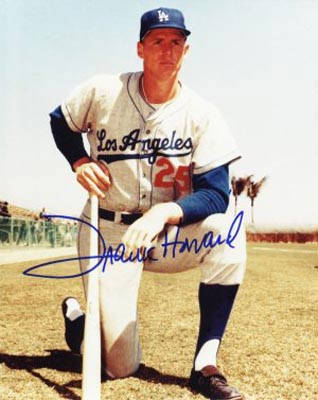 Autographed Frank Howard