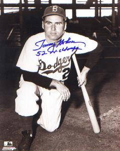Autographed Tommy Holmes