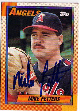 Autographed Mike Fetters