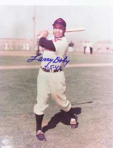 Autographed Larry Doby