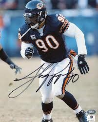 Autographed Julius Peppers