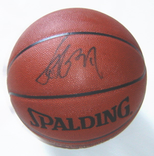 Autographed Yao Ming