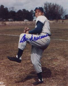 Autographed Don Newcombe