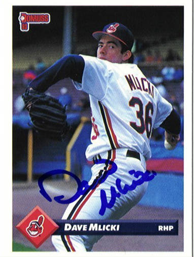 Autographed Dave Mlicki