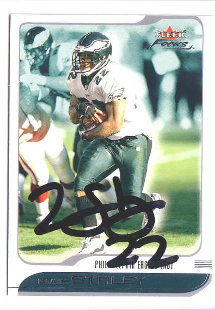 Autographed Duce Staley