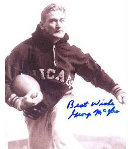 Autographed George McAfee