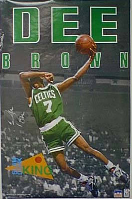 Autographed Dee Brown
