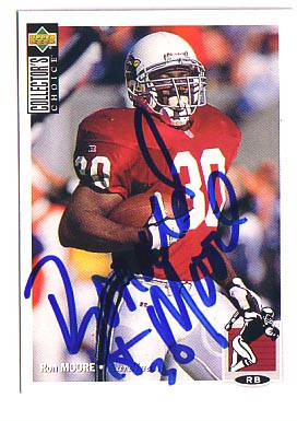 Autographed Ron Moore