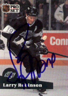 Autographed Larry Robinson