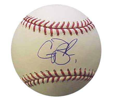 Autographed Casey Blake