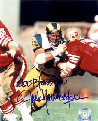 Autographed Jack Youngblood