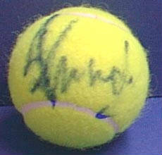 Autographed Tim Henman