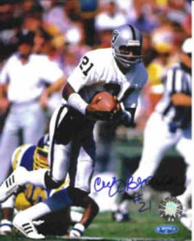 Autographed Cliff Branch