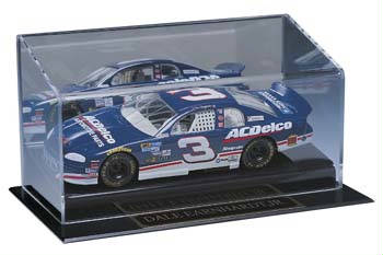 Autographed Single Die Cast Car Deluxe Display Case Cube