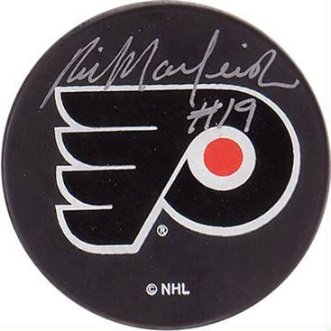 Autographed Rick Macleish