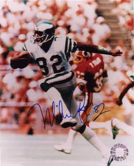 Autographed Mike Quick
