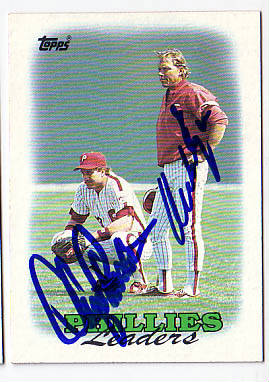 Autographed Lance Parrish & Mike Ryan