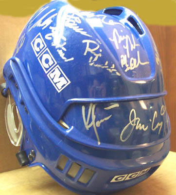 Autographed 1980 Olympic Hockey Team