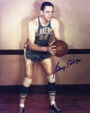 Autographed George Mikan