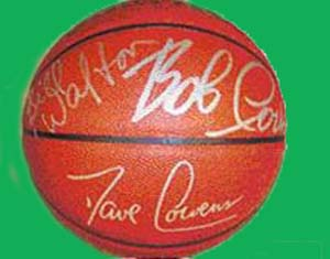 Autographed Boston Celtics Legends Basketball