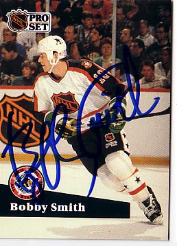 Autographed Bobby Smith