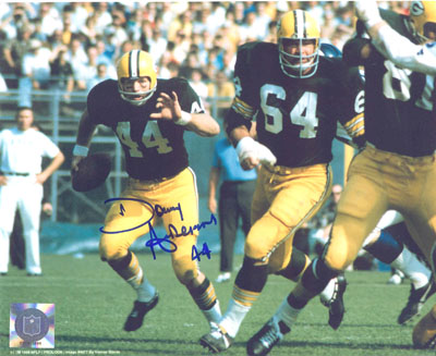 Autographed Donny Anderson