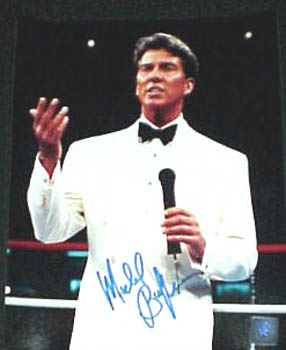 Autographed Michael Buffer