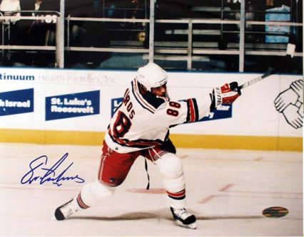 Autographed Eric Lindros