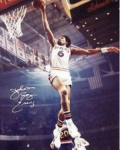 Autographed Julius Erving