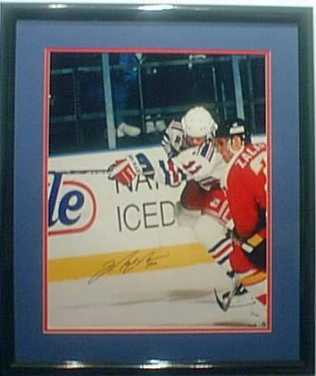Autographed Mark Messier