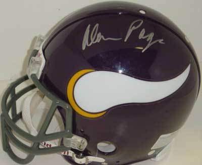 Autographed Alan Page