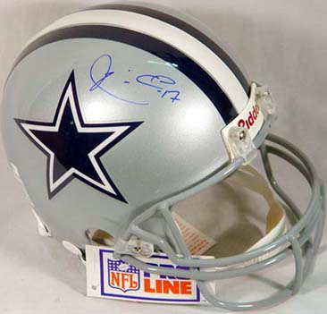 Autographed Quincy Carter