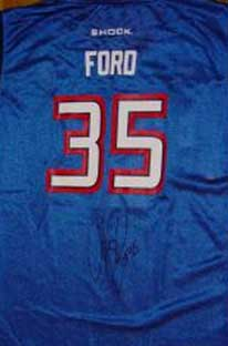Autographed Cheryl Ford