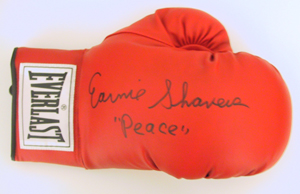 Autographed Earnie Shavers
