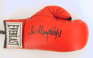 Autographed Sir Henry Cooper