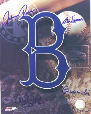 Brooklyn Dodgers Pitching Aces
