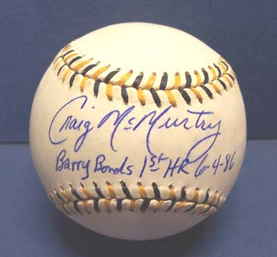 Autographed Craig McMurtry