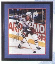 Autographed Brian Leetch