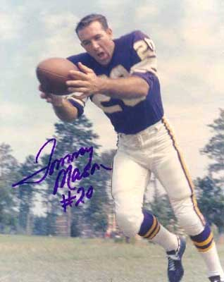 Autographed Tommy Mason
