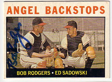 Autographed Bob Buck Rodgers