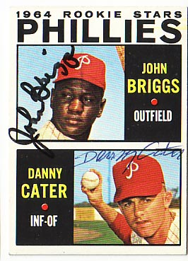 Autographed Johnny Briggs & Danny Cater