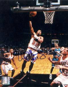 Autographed Alonzo Mourning