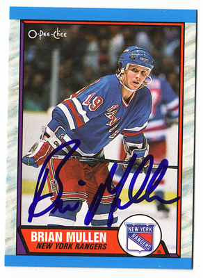 Autographed Brian Mullen