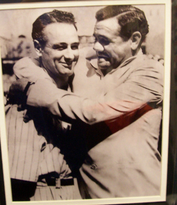 Autographed Ruth/Gehrig